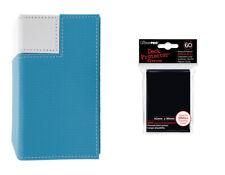 Ultra pro - M2 Flip Deck Box (Azul/Blanco) + Fundas Nuestra Wahl
