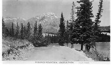 Postcard  Canada Pyramid mountains   Jasper  Park unposted