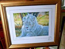 Stephen Gayford   LION   WHITE  PRINCE  2009   LTD EDITION  SP   ARTIST REMARQUE