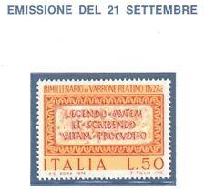 FRANCOBOLLO ITALIA 1974 MARCO TERENZIO VARRONE L.50 - NUOVO