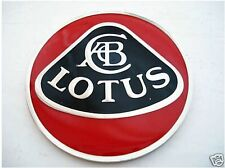 Badges & Mascots Lotus Black & Chrome Enamel Car Bonnet Badge Inc Fixings Elise Elan Heritage Car Badges