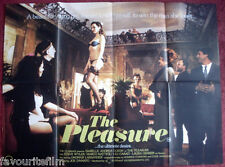 Cinema Poster: PLEASURE, THE 1986 (Quad) Joe D'Amato Andrea Guzon Gabriele Tinti