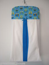 Blue Owls Nappy Diaper Stacker
