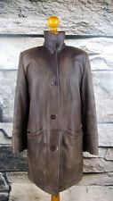 FRANCO CALLEGARI Gr. 36 38 Lederjacke Mantel Blazer leather Coat Kurzmantel #208