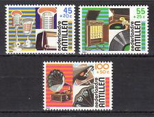 Dutch Antilles - 1984 Culture / Sound reproduction / Music Mi. 524-26 MNH