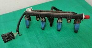 Fiat Punto Mk2 (99-04) Active 1.2 16v 0280151073 Fuel Injectors on Rail