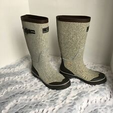 Arctic shield rubber boots size 7