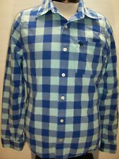 ABERCROMBIE & FITCH Mens Large L plaid long sleeve Button-up shirt