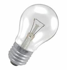 GE BRAND 15W 240V ES/E27 CLEAR INCANDESCENT CLASSIC GLS - PACK OF 2