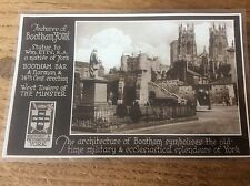 York Postcard Features of Bootham York RP pc Historic Picturesque York