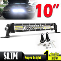 "10"" 100W barre de led light bar 10-30V Offroad Phare de travail 4x4 Singal Rampe"