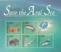 TAJIKISTAN 1996 Save the Aral Sea mini/souvenir sheet SG #MS89 MNH