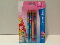 Disney Princess 4 Pack Paper Mate Mechanical Pencils HB#2 New