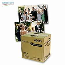HiTi Fotopapier / Thermopapier 10x15cm (4x6) für HiTi P510 S/K 2x 330 Blatt