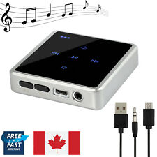 2 in1 Touch Wireless Bluetooth Transmitter + Receiver Audio 3.5MM RCA Adapter CA