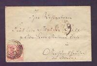 Thurn + Taxis - Umschlag mit 1 Sgr. MiNr. 29 aus Weimar - Michel 70,00 € (396)