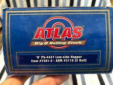 CNC190 O Scale Atlas PS-4427 Low Side Hopper ADM Road#31192 Rail #7391-2