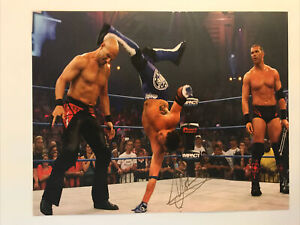 A J Styles Signed 11 X 14 Photo With COA TNA WWE