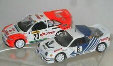 2 RALLYE MODELLE - FORD RS 200 + ESCORT RS COSWORTH - IXO ALTAYA - 1:43