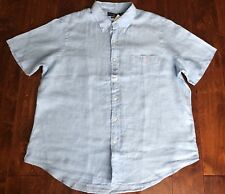 NWT POLO RALPH LAUREN SHORT SLEEVE 100% LINEN SHIRT SZ XXL