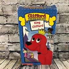 Clifford The Big Red Dog King Clifford VHS Casette Tape