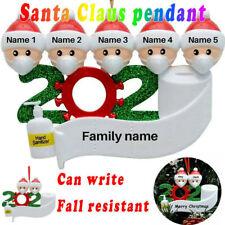 2020 Xmas Christmas Tree Hanging Ornaments Family Ornament Santa Claus Decor DIY