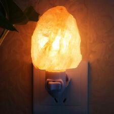 Himalayan Natural Salt Lamps Lonic Rock Crystal Salt Wall Night Light Room UK