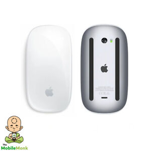 Genuine Apple A1657 Wireless Bluetooth Magic Mouse 2 - (Silver/White) MLA02ZA/A