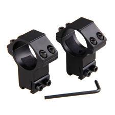 2 Stück Zielfernrohr Montage 30mm Ring Weaver Picatinny 11mm Schiene Jagd Gun