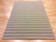 Striped Mississippi KHAKI CREAM WS108 Crucial Trading Wool Rug 140x200cm -60%OFF