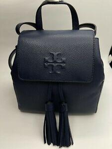 Tory Burch Mini Thea Backpack In Royal Navy NWT
