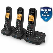 BT 1700 Nuisance Call Blocker Cordless Phone with Answer Machine Trio Pack