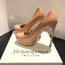 💛Yves Saint Laurent's Gisele Palais Patent Pump💛  Nude  39   ✅100% Authentic✅