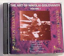 THE ART OF NIKOLAI GOLOVANOV .VOL 1 . SCRIABIN Piano concerto, Poem of ecstasy