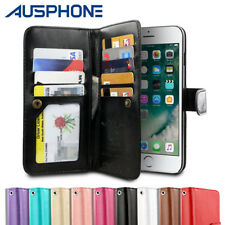 Leather Flip Case Wallet Cover Stand For Apple iPhone X 8 7 6S 6 Plus 5S 5 SE OZ