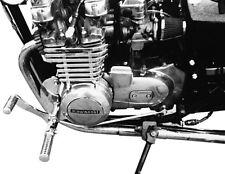 REPOSE-PIEDS 35 cm présenté pour Kawasaki Z 550 LTD avec TÜV