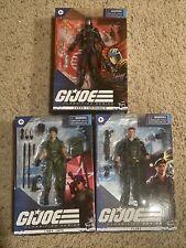 GI JOE : Classified Series Lot of 3 26 Flint 25 Lady Jaye 06 Cobra Commander NIB