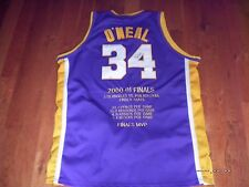 100% Authentic Shaquille O'neal Shaq Lakers Jersey Sz 60 RARE VON DUTCH SEWN Col