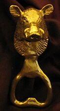 WILD BOAR, Boar's Head Bottle Opener in Bronze