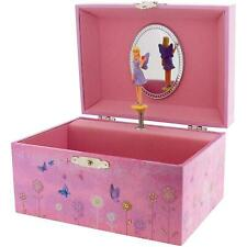 Mele Girls Sheba Twirling Fairy Musical Jewellery Trinket Box Mirror