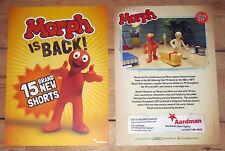 Aardman Animation Morph promotional flyer, new