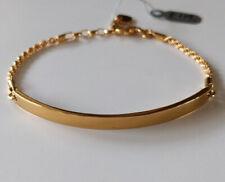 Thomas Sabo amor puente Brazalete Clásico Enchapado En Oro Amarillo 18k de plata esterlina