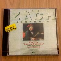 Jan Sach – Sinfonie : Sonfonias Nos. 1 – 7 (CD 1993) NEW Capella Sancta Caecilia