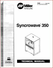 Miller Syncrowave 350 Technical Manual Eff With Jj407276