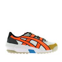Onitsuka Tiger Big Logo Trainer Sneaker Uomo 1183A419 100 White Shocking Orange