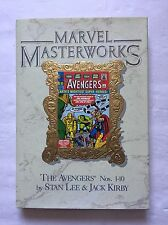 Marvel Masterworks Vol. 4 The Avengers #1-10*TRUE 1st Printing *Stan Lee/Kirby