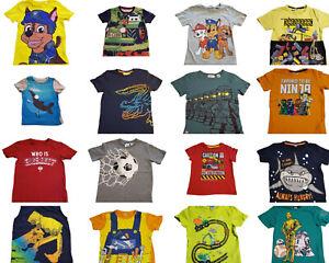 ❤️💖 XXL AUSWAHL ❤️💖 über 60 Jungen T-Shirts Gr. 110/116