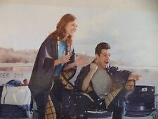 "EDDIE BAUER MULTI PURPOSE Blanket Throw Poncho 60"" x 50"" Water Resistant"