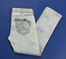 Wrangler mae jeans skinny stretti donna w32 tg 46 denim azzurri stretch T2671
