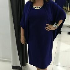 special occasion dress. Size 16 Evening. Mother Of Bride. Indigo blue purple